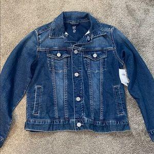 kids large denim jacket Price is adjustable